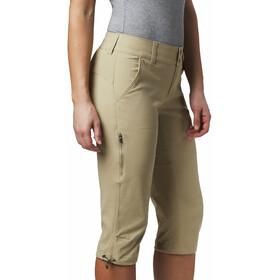 Columbia Saturday Trail II Pantalones por debajo la rodilla Mujer, british tan